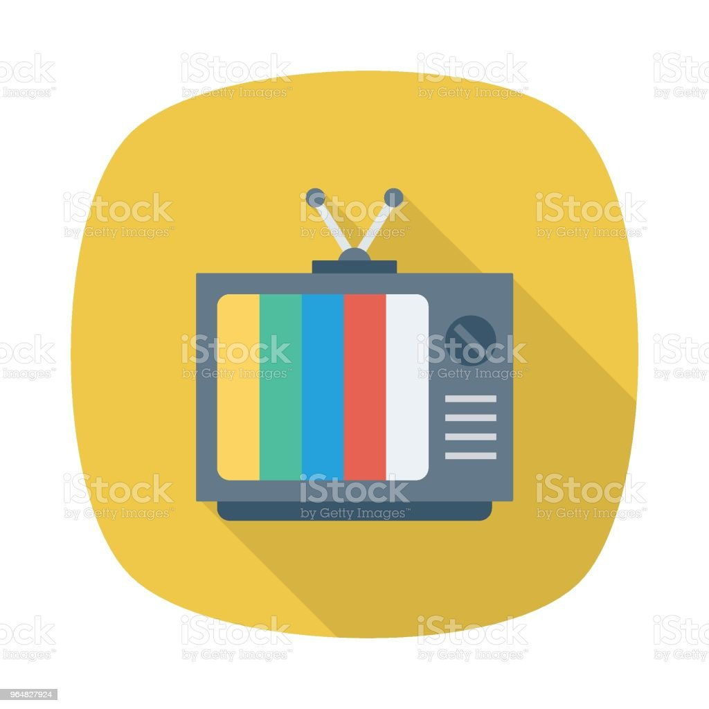 TV royalty-free tv stock vector art & more images of analog
