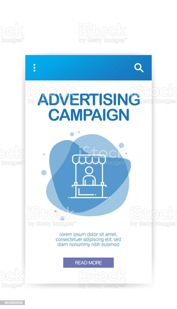 ADVERTISING CAMPAIGN INFOGRAPHIC royalty-free advertising campaign infographic stock vector art & more images of advertisement