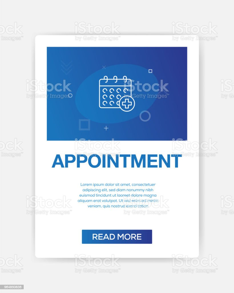 APPOINMENT ICON INFOGRAPHIC royalty-free appoinment icon infographic stock vector art & more images of abstract