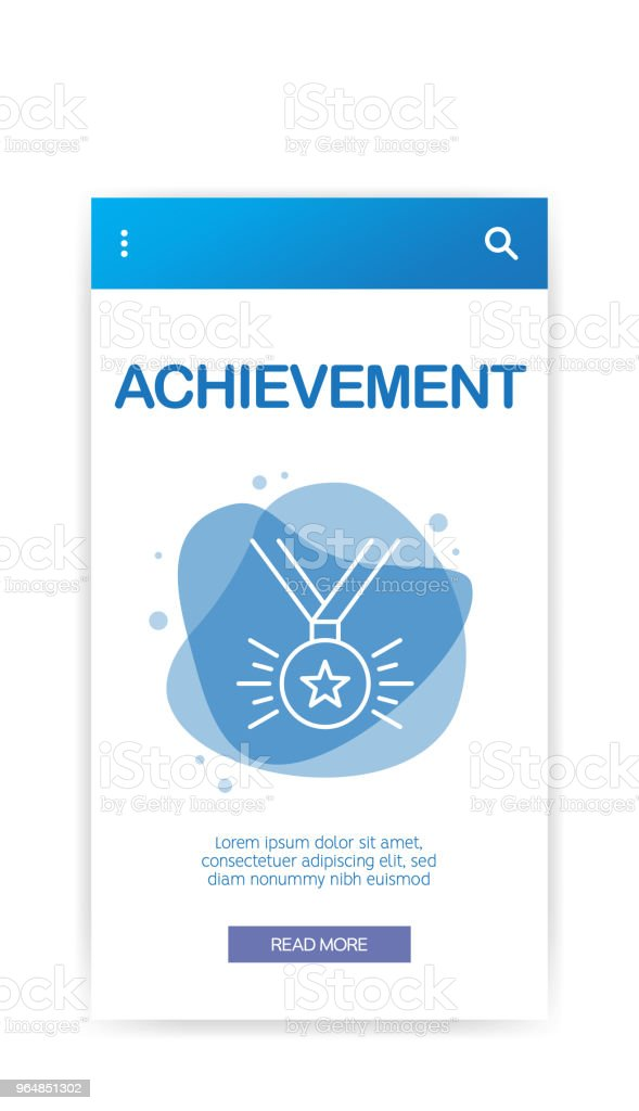 ACHIEVEMENT INFOGRAPHIC royalty-free achievement infographic stock vector art & more images of abstract