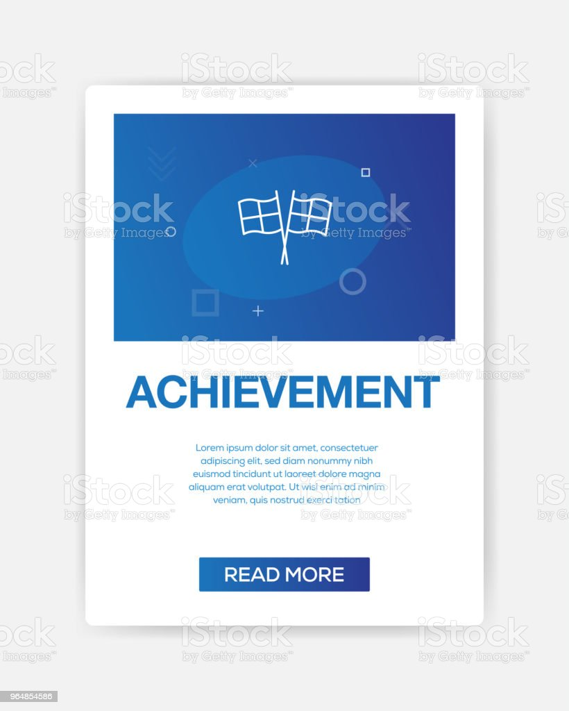 ACHIEVEMENT ICON INFOGRAPHIC royalty-free achievement icon infographic stock vector art & more images of achievement