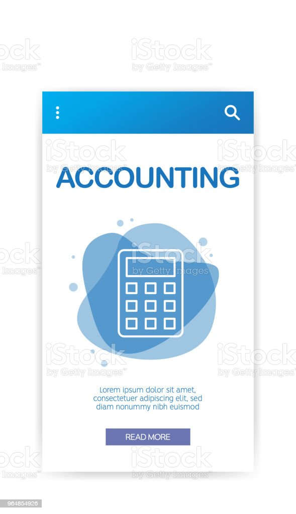 ACCOUNTING INFOGRAPHIC royalty-free accounting infographic stock vector art & more images of abstract