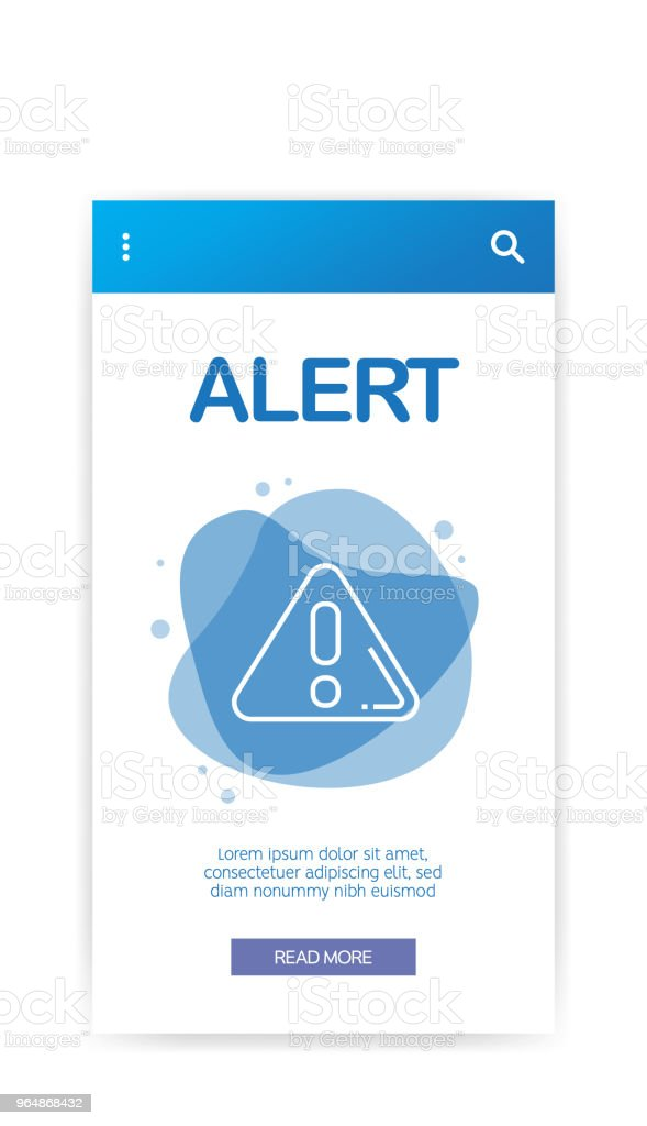 ALERT INFOGRAPHIC royalty-free alert infographic stock vector art & more images of accessibility