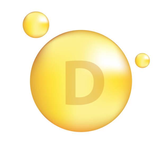 печать - vitamin d stock illustrations