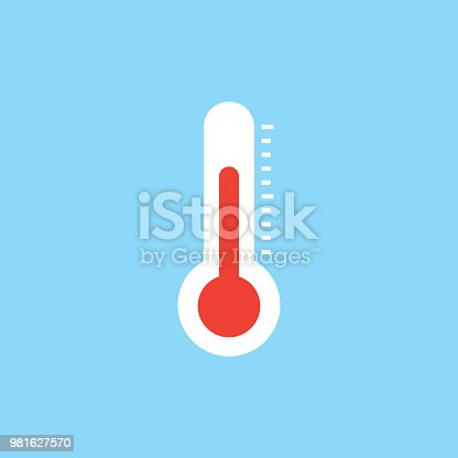THERMOMETER FLAT ICON