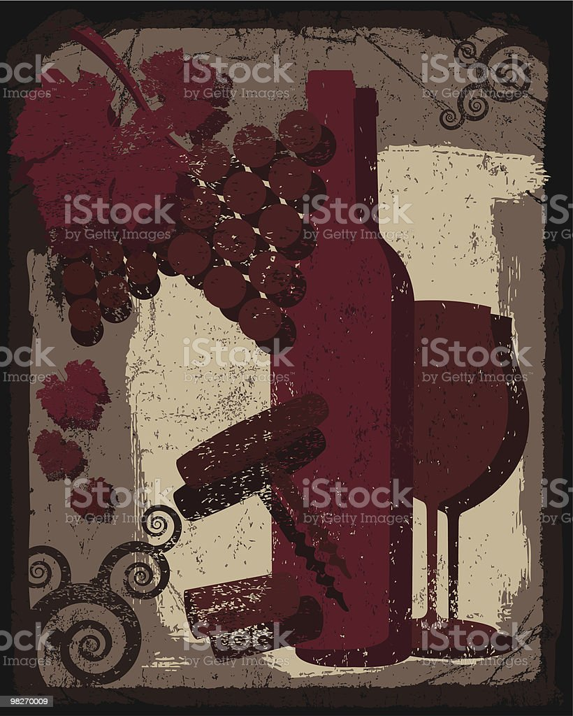 WINE COMPOSITION royalty-free wine composition stock vector art & more images of alcohol