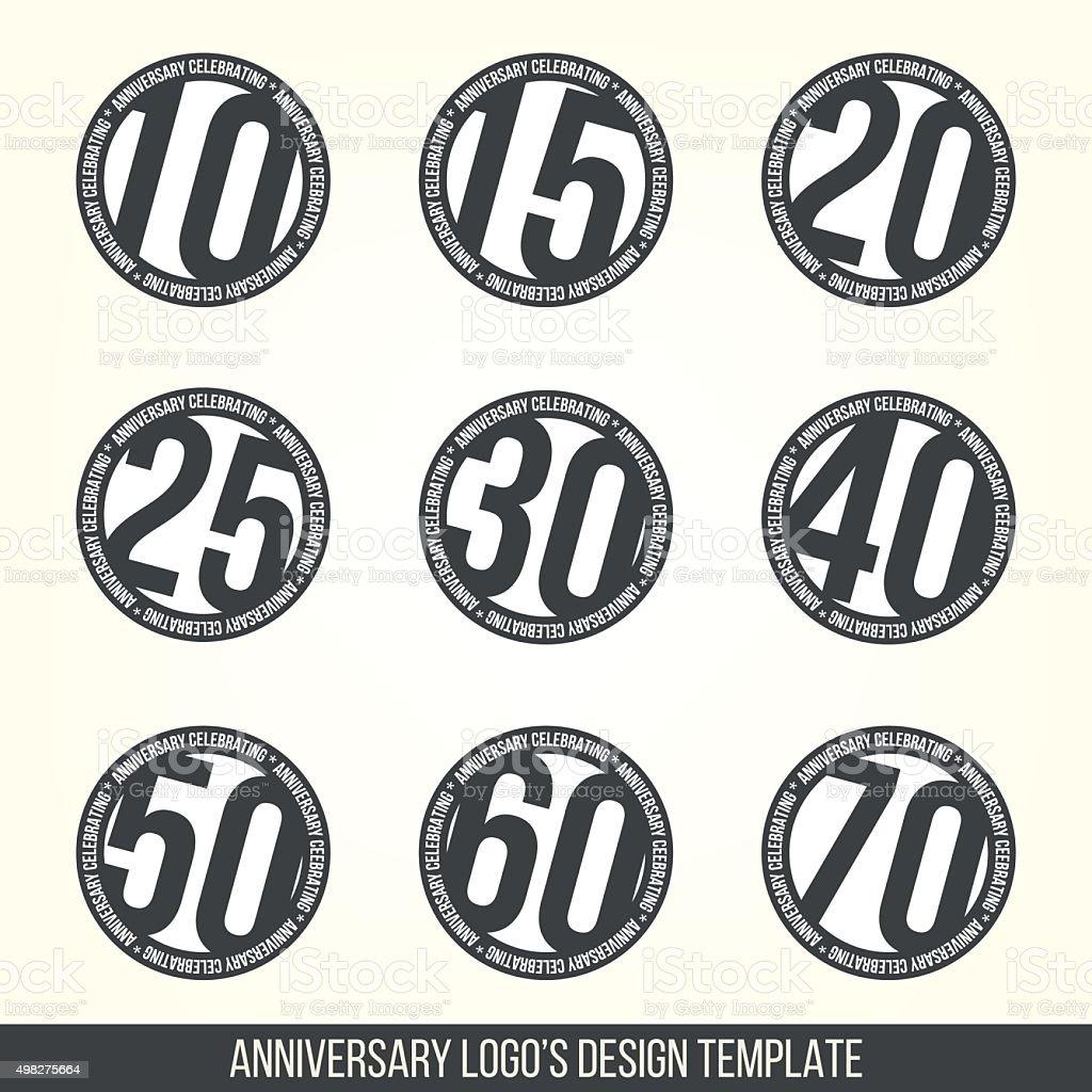 10th 20th 30th 40th 50th 60th anniversary logo logotype template 10th 20th 30th 40th 50th 60th anniversary logo logotype template biocorpaavc Choice Image