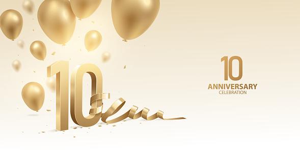 10th Anniversary Celebration Background