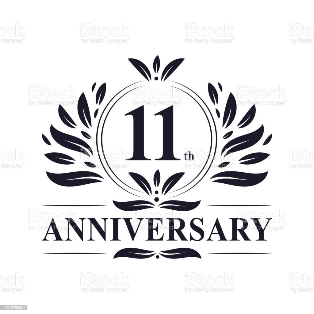 11th Anniversary Logo 11 Years Celebration Stock Illustration Download Image Now Istock