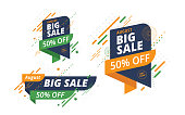 15th August Indian Independence Day  Big Sale Banner Design Template Set with 50% Discount Tag