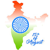 nice and beautiful abstract or poster for 15th of August or Independence Day of INDIA with nice and creative design illustration.