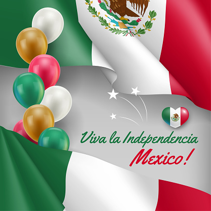 16th September Independence Day of Mexico vector banner