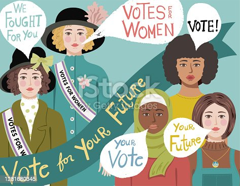 istock 19th Amendment Vote 1281680345