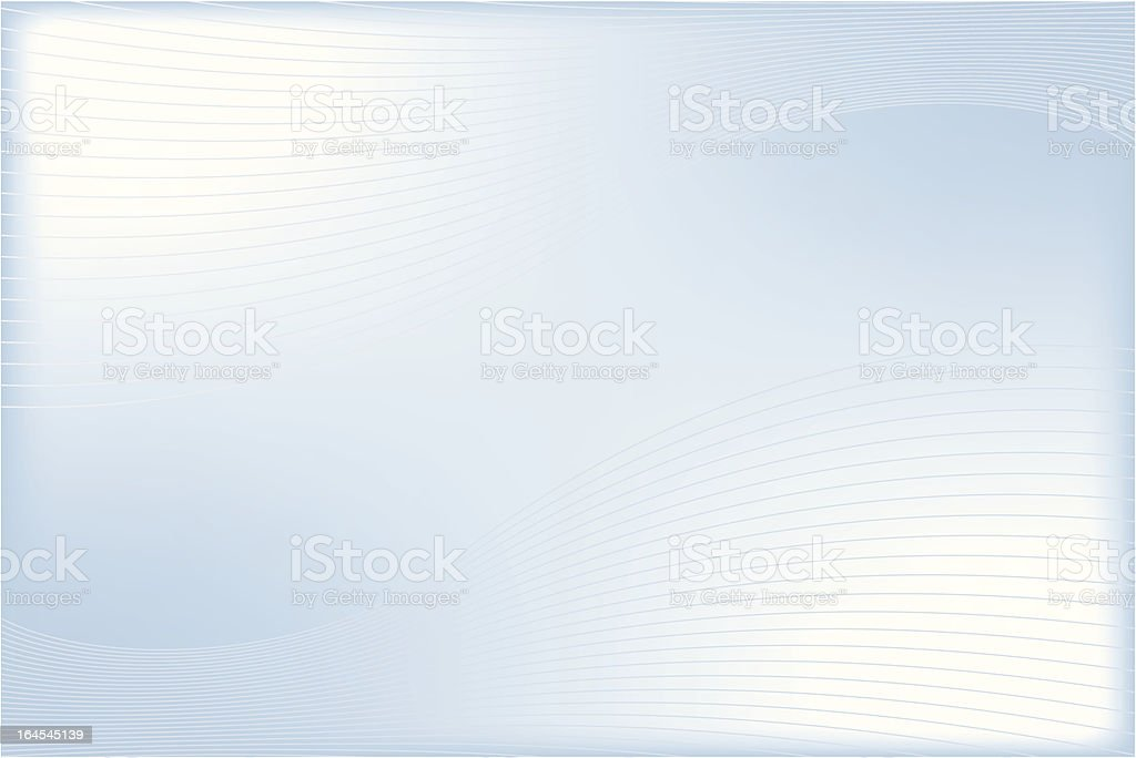 1-Credit Linear Wave royalty-free stock vector art