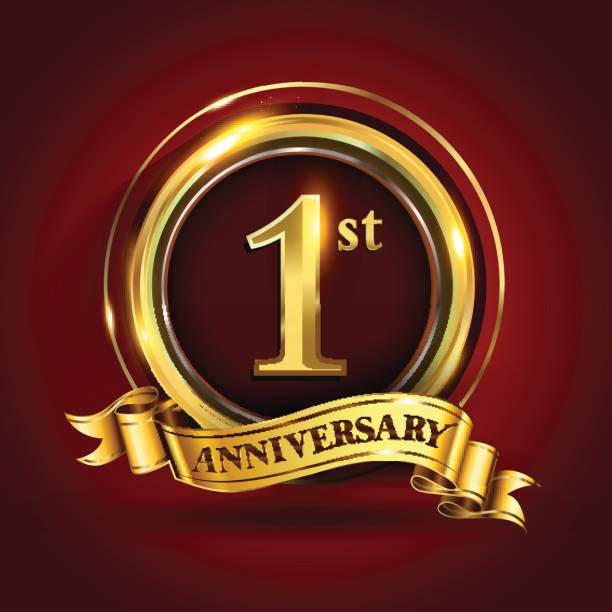 1st year anniversary free vector art 16 free downloads 1st year anniversary free vector art 16 free downloads