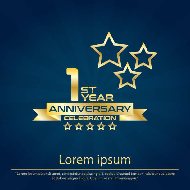 26+ 1St Anniversary Logo Vector