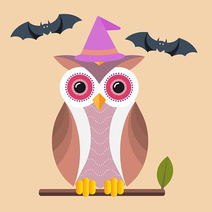 21-07-15halloween owl and bat