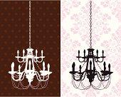 2-tier chandelier