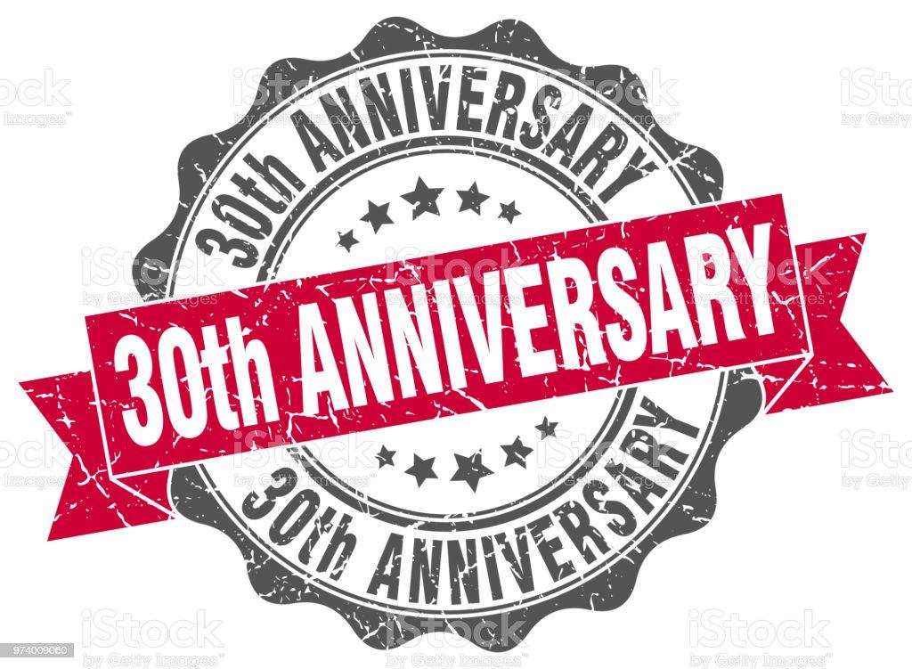 30e Verjaardag Stempel Teken Seal Stockvectorkunst En Meer Beelden