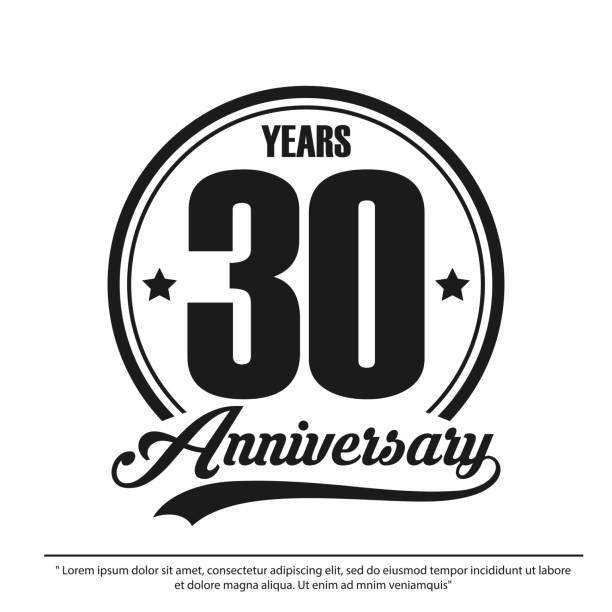 Download 30th Anniversary Illustrations, Royalty-Free Vector ...