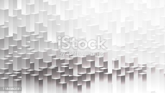 3d abstract modern city in sunny day  and Vectors