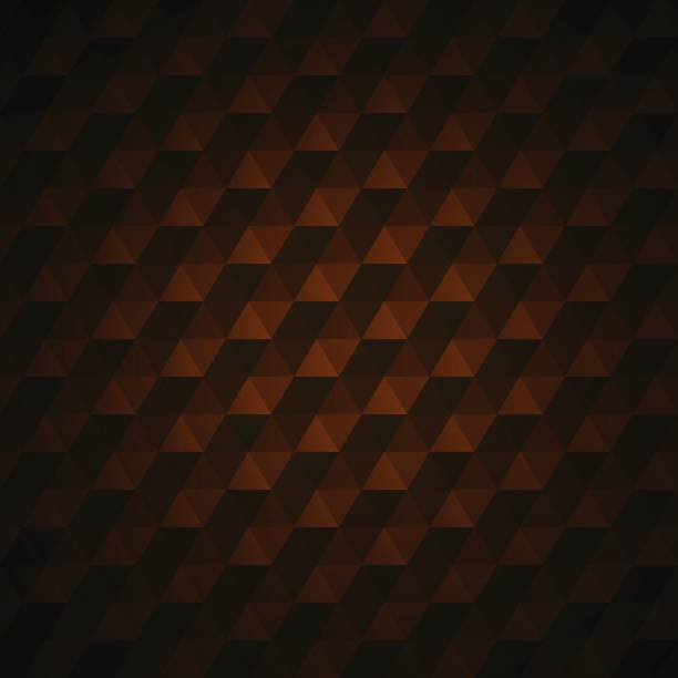 3d-textur abstrakte, geometrische nahtlose vektormuster. hintergrund prägt. hintergrund prägt. - dunkelbraun stock-grafiken, -clipart, -cartoons und -symbole