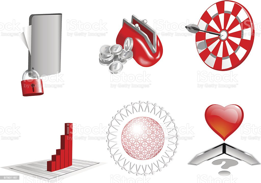 3d design elements. royalty-free 3d design elements stock vector art & more images of abundance
