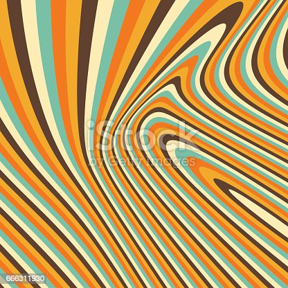 istock 3d geometrical background. Pattern with optical illusion. Vector illustration. 666311930