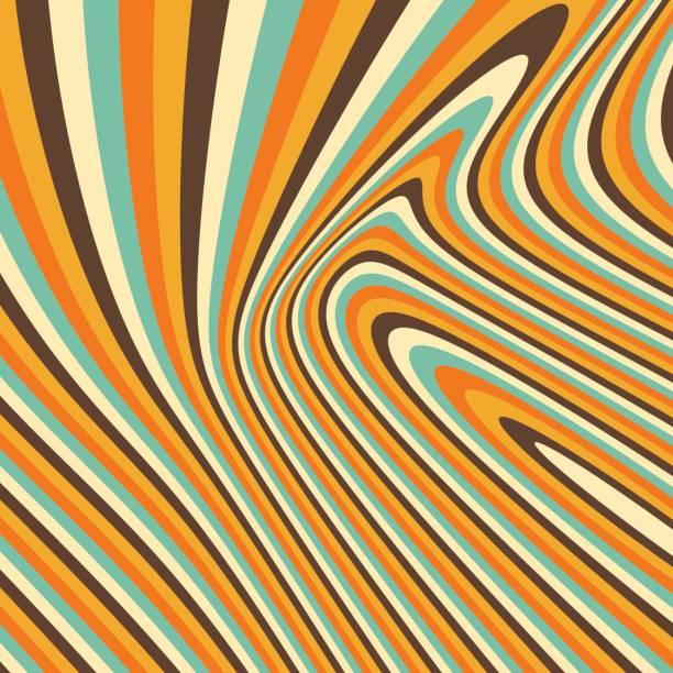 stockillustraties, clipart, cartoons en iconen met 3d geometrische achtergrond. patroon met optische illusie. vectorillustratie. - stroom activiteit