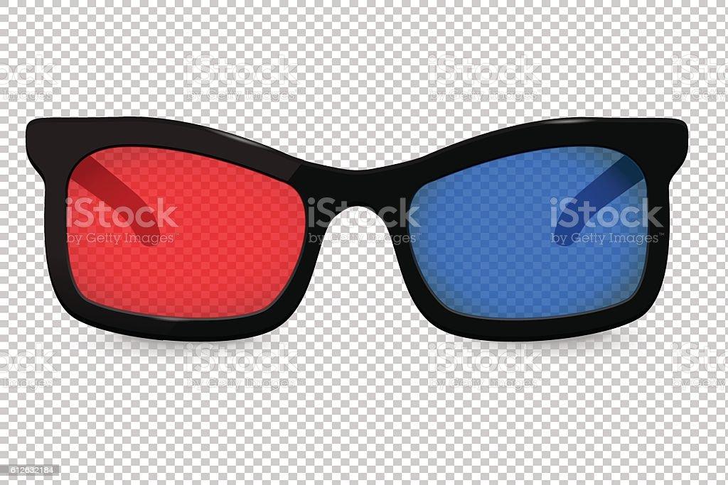 3d glasses for cinema – Vektorgrafik