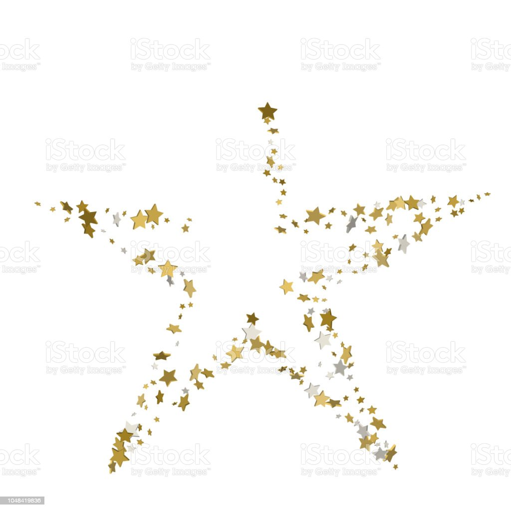 3d golden star vector banner simple form template card vip exclusive