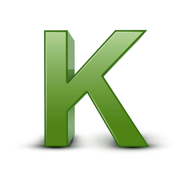 Best Letter K In Nature Backgrounds Illustrations, Royalty-Free