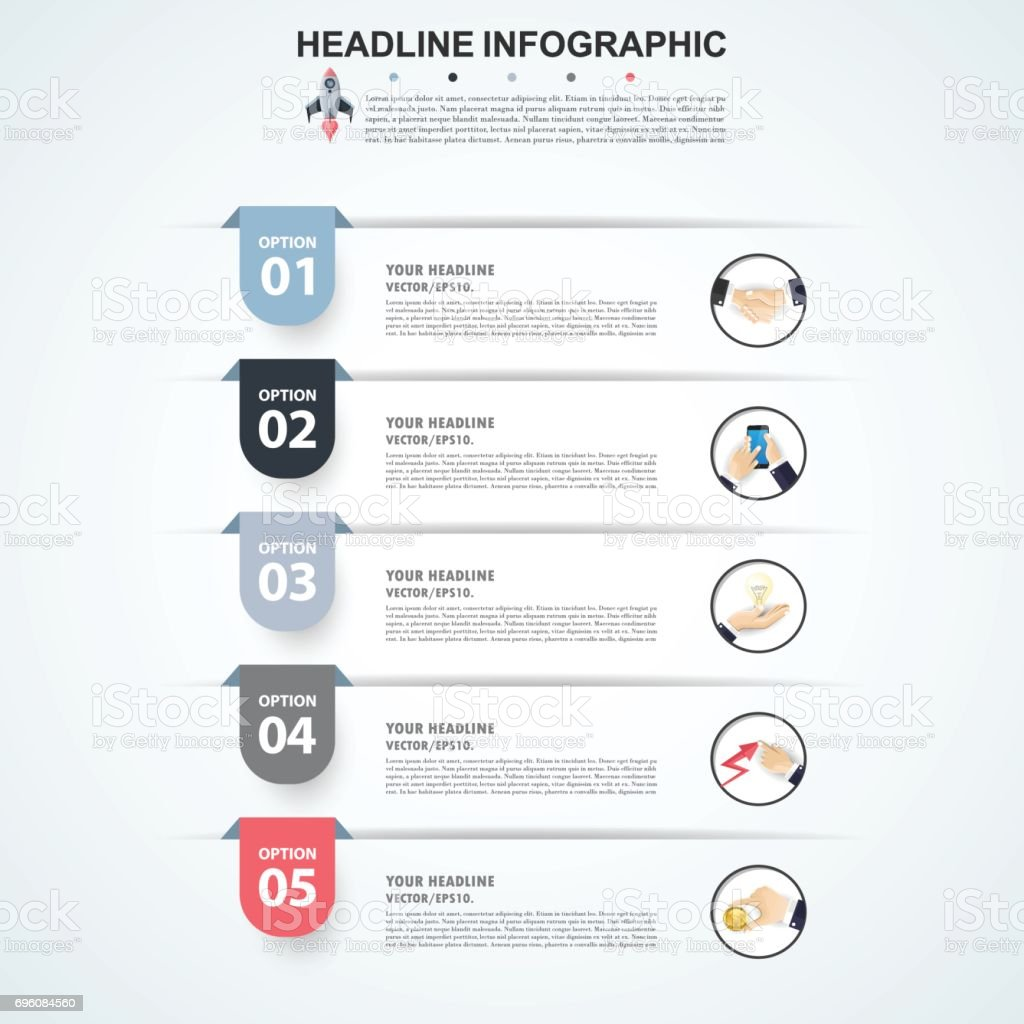 3d Infographic Template. Data Visualization. Can be used for workflow layout, number of options, steps, diagram, graph, presentation, timeline chart and web design. Vector illustration.