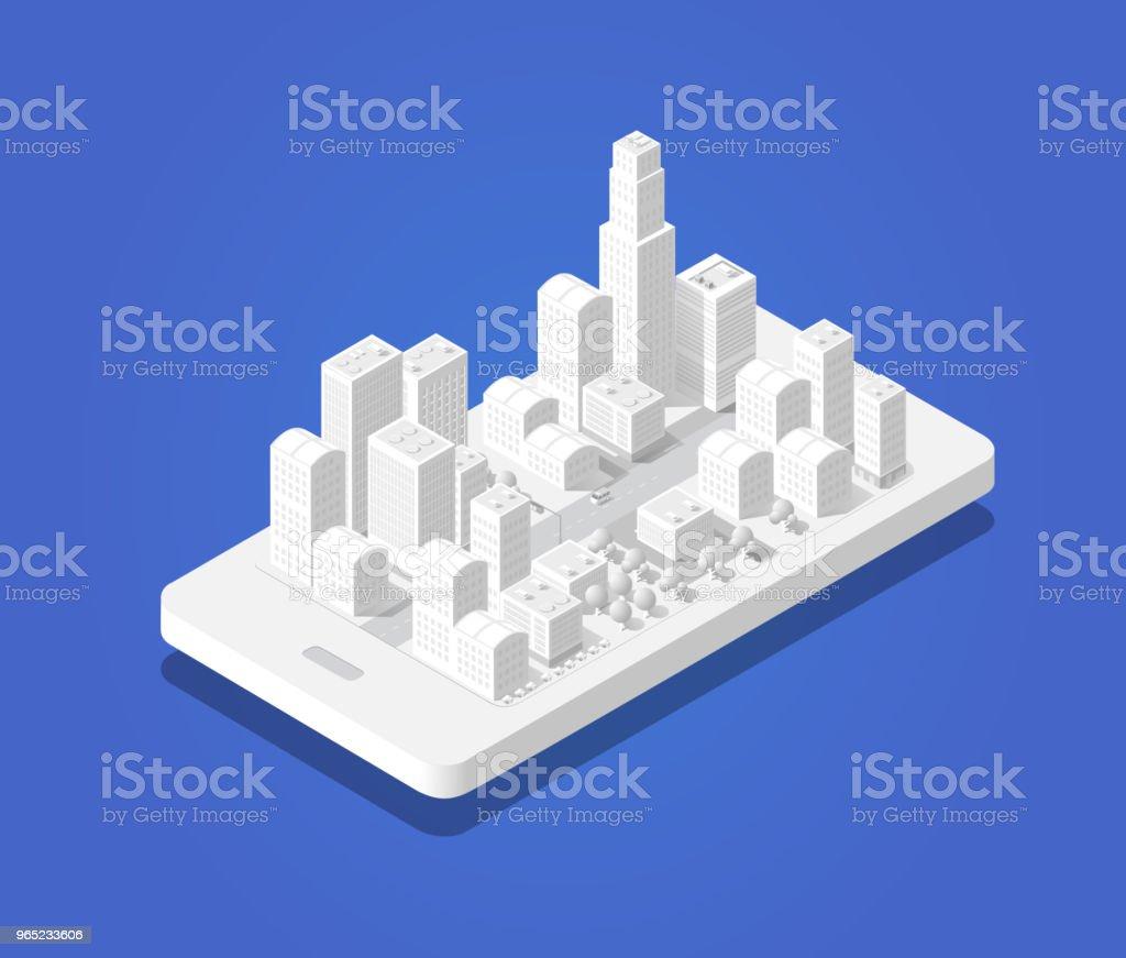 3d map isometric city 3d map isometric city - stockowe grafiki wektorowe i więcej obrazów architektura royalty-free