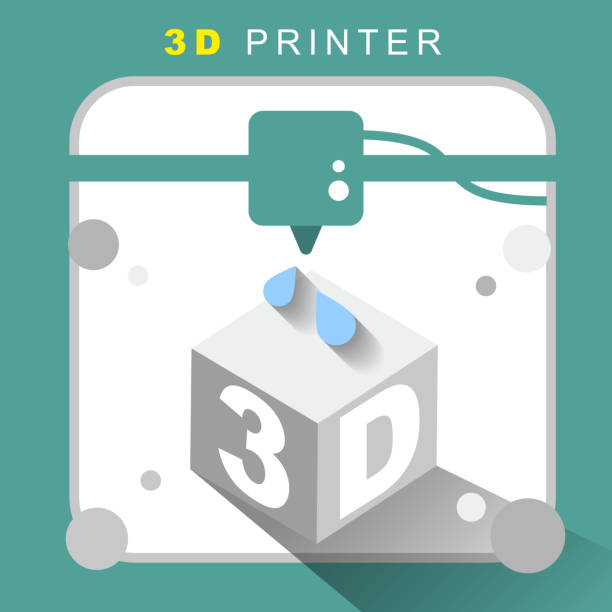 Royalty Free 3d Printing Clip Art, Vector Images ...