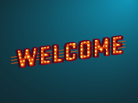 Welcome stock illustrations