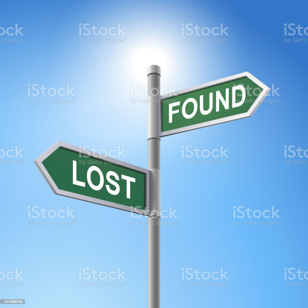 Image result for free lost and sign image