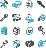 Vector illustration of the car part.