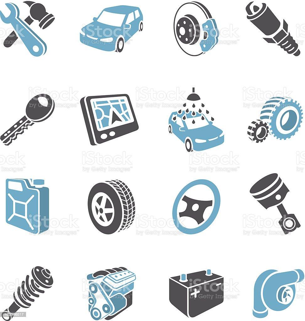 3 d Transport Icons – Vektorgrafik