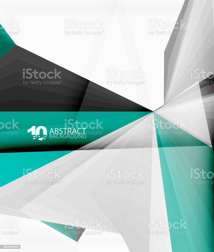 3d triangle polygonal abstract vector royalty-free 3d triangle polygonal abstract vector stock vector art & more images of abstract