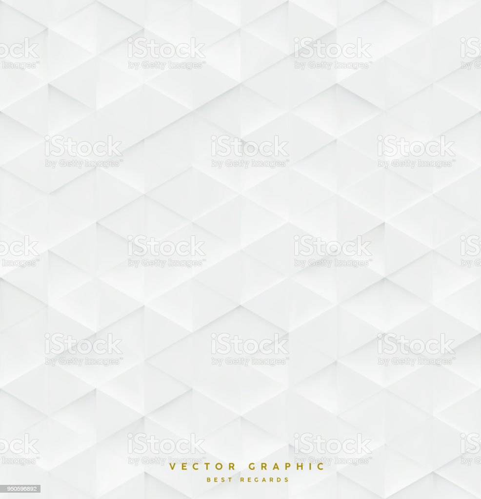 3d Triangle seamless vector pattern, business background - arte vettoriale royalty-free di Astratto