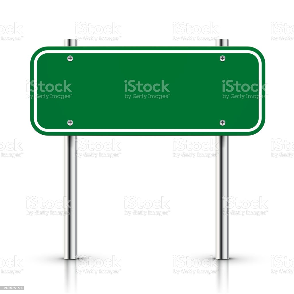 royalty free green street sign clip art vector images