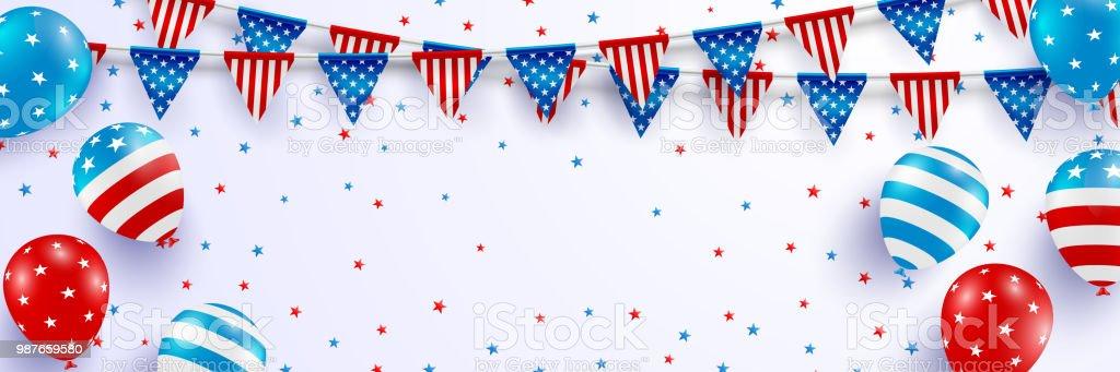 4th of july blackguards templateusa independence day celebration