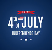 istock 4th of July card. Independence Day. Vector 1251362524
