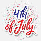 American Celebration, Vector greeting