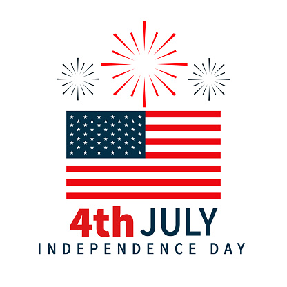 4th of july, independence day social post, flyer, poster, or t shirt design