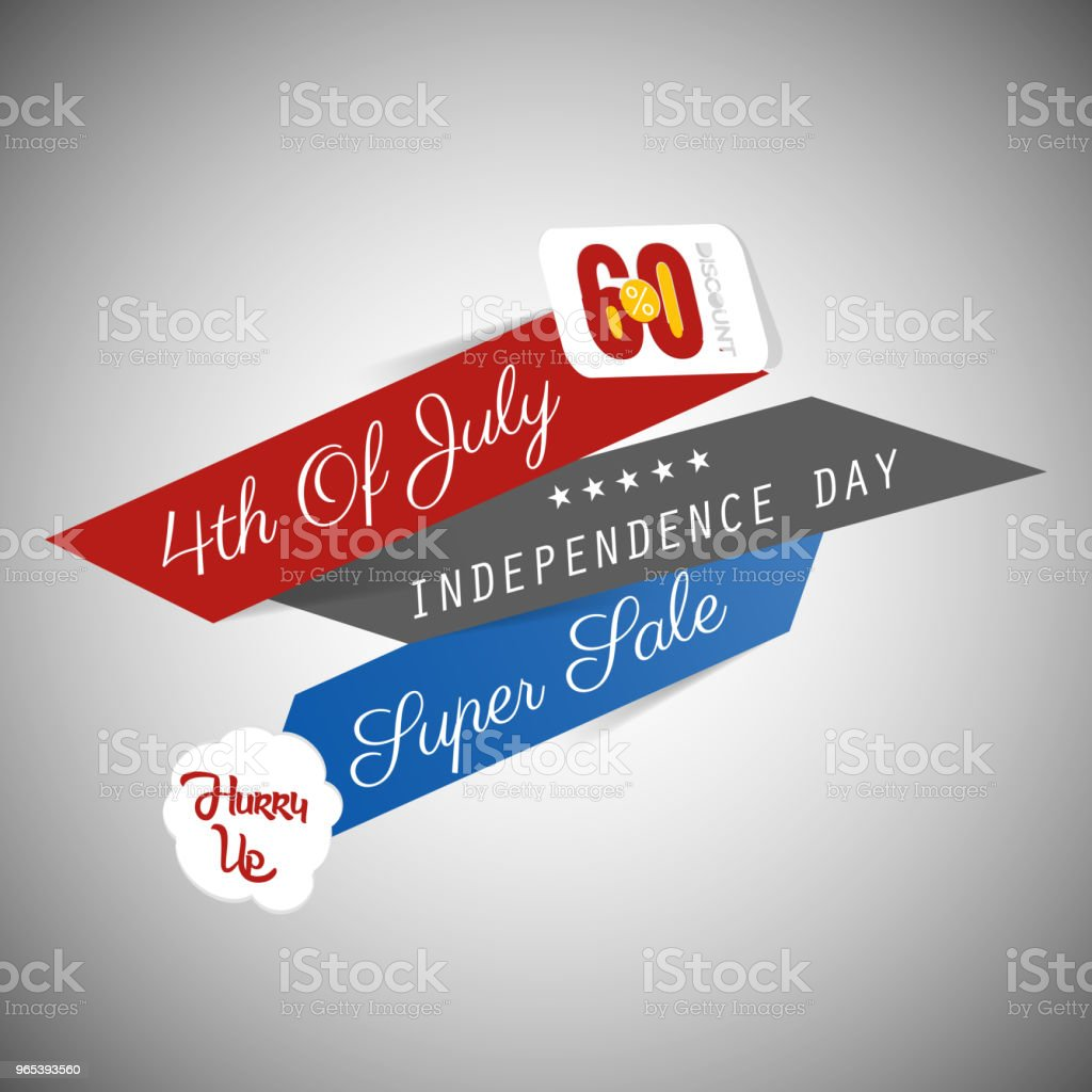 4th of July Sale royalty-free 4th of july sale stock vector art & more images of advertisement