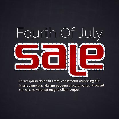7 월 판매의 4 7월에 대한 스톡 벡터 아트 및 기타 이미지