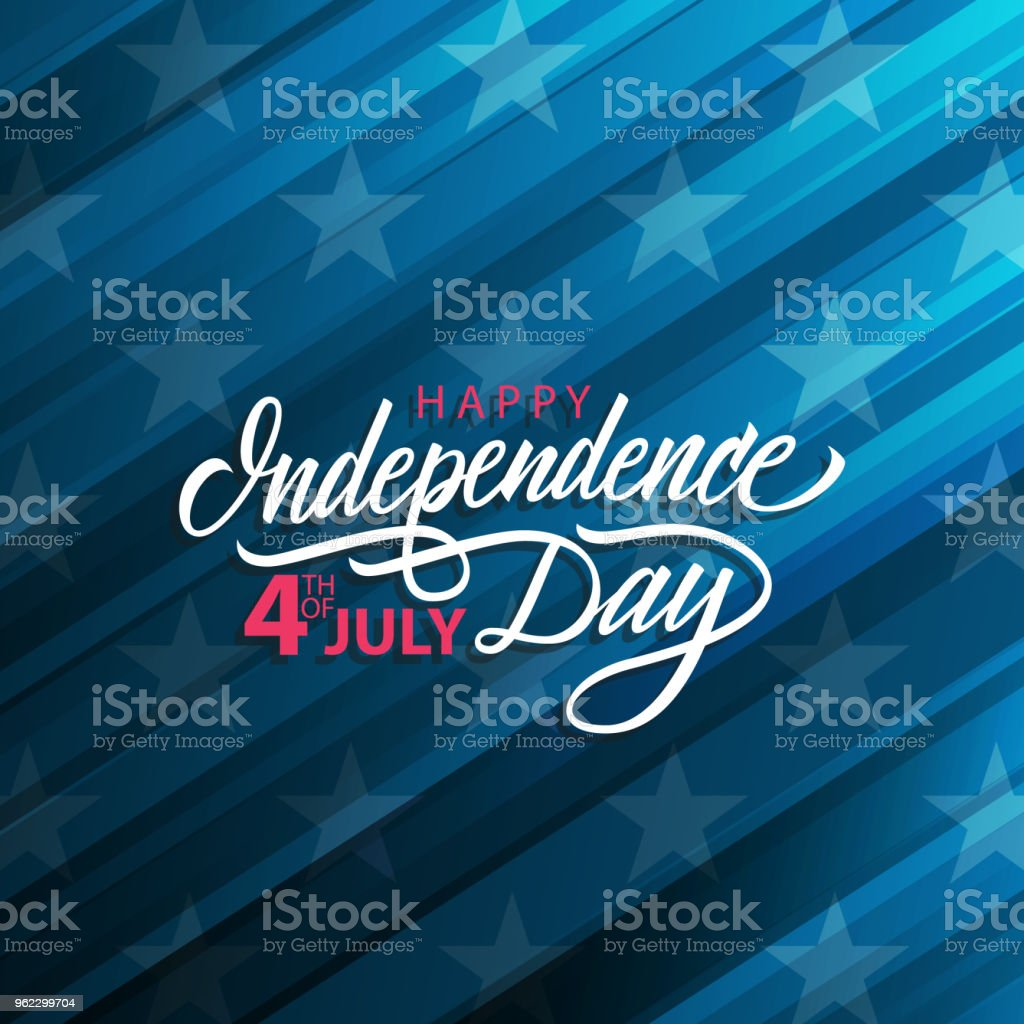 4th Of July United States Happy Independence Day Celebrate Card With