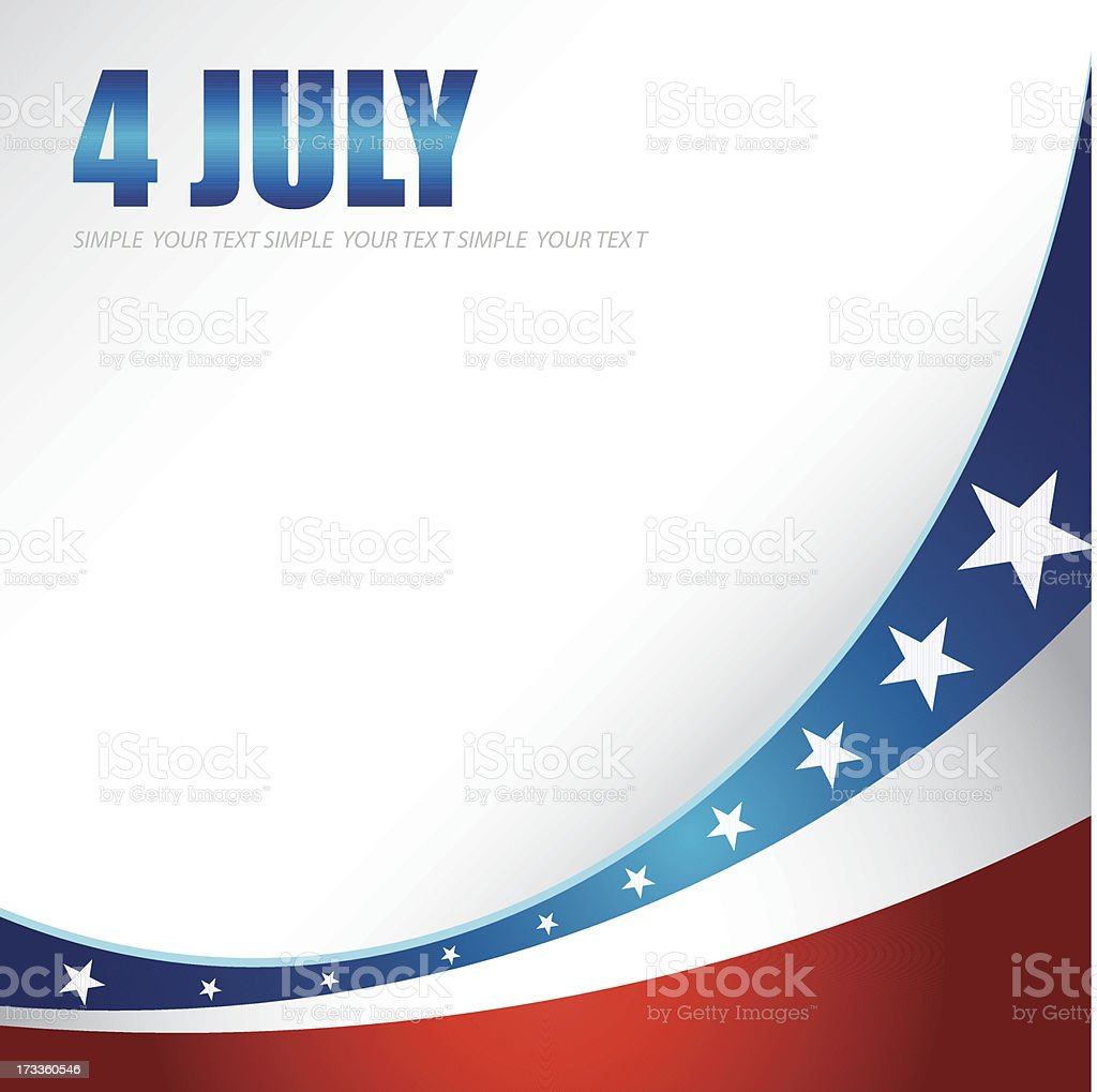 4th of july royalty-free stock vector art